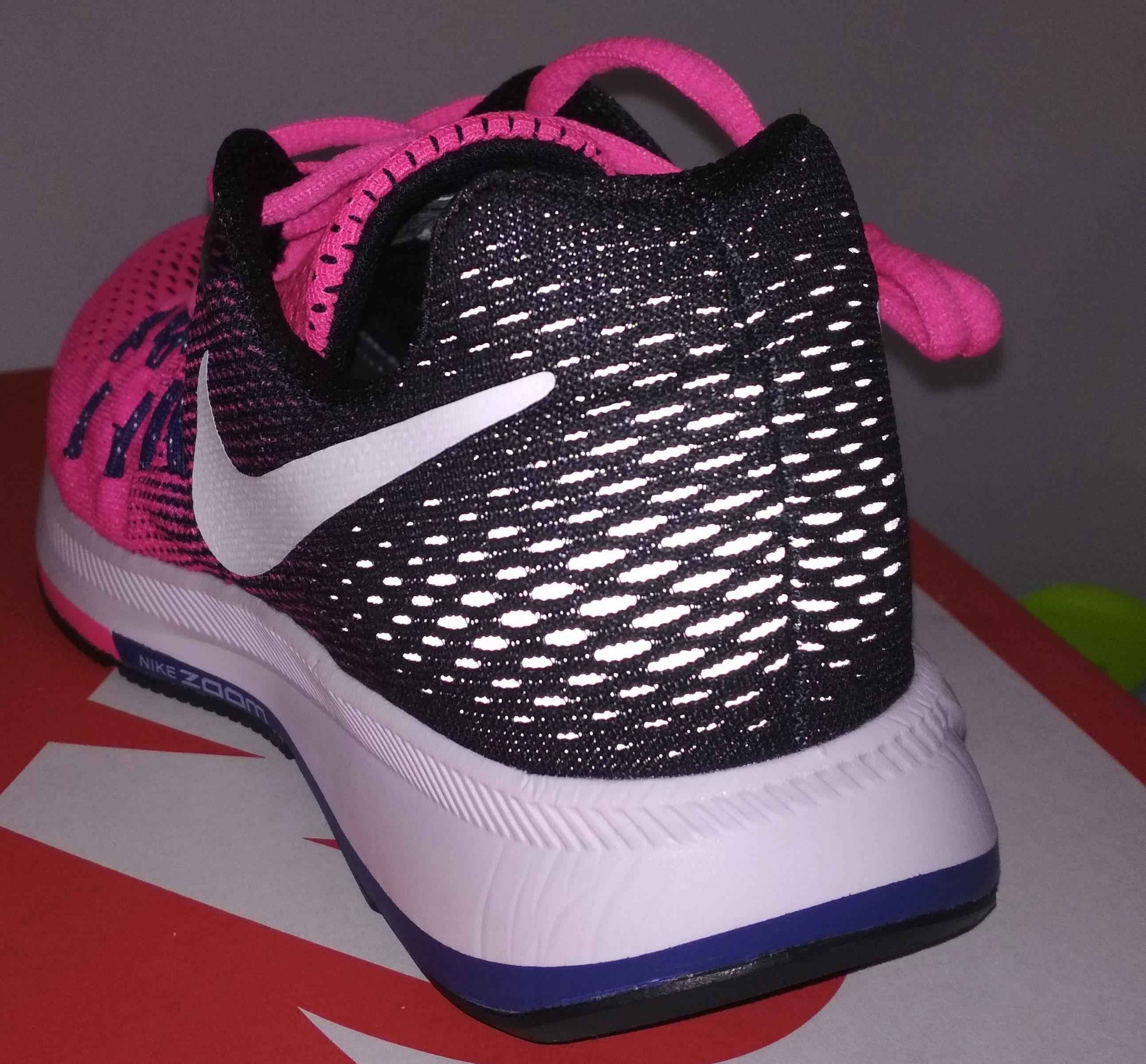 большое фото №5 Женские кроссовки для бега Nike Zoom Pegasus 33 темно-розовые. Топ качество!