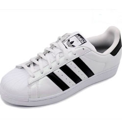 Adidas superstar black-white