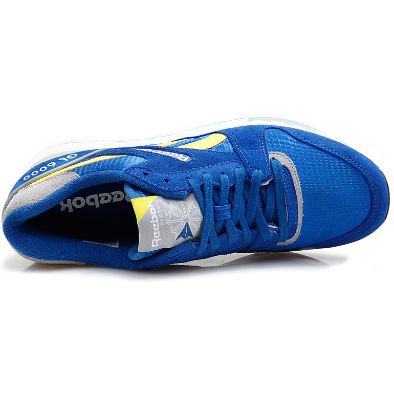 фото back Reebok GL6000 J98339  RBK/YELLOW/GREY back