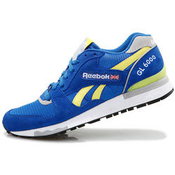 Reebok GL6000 J98339  RBK/YELLOW/GREY