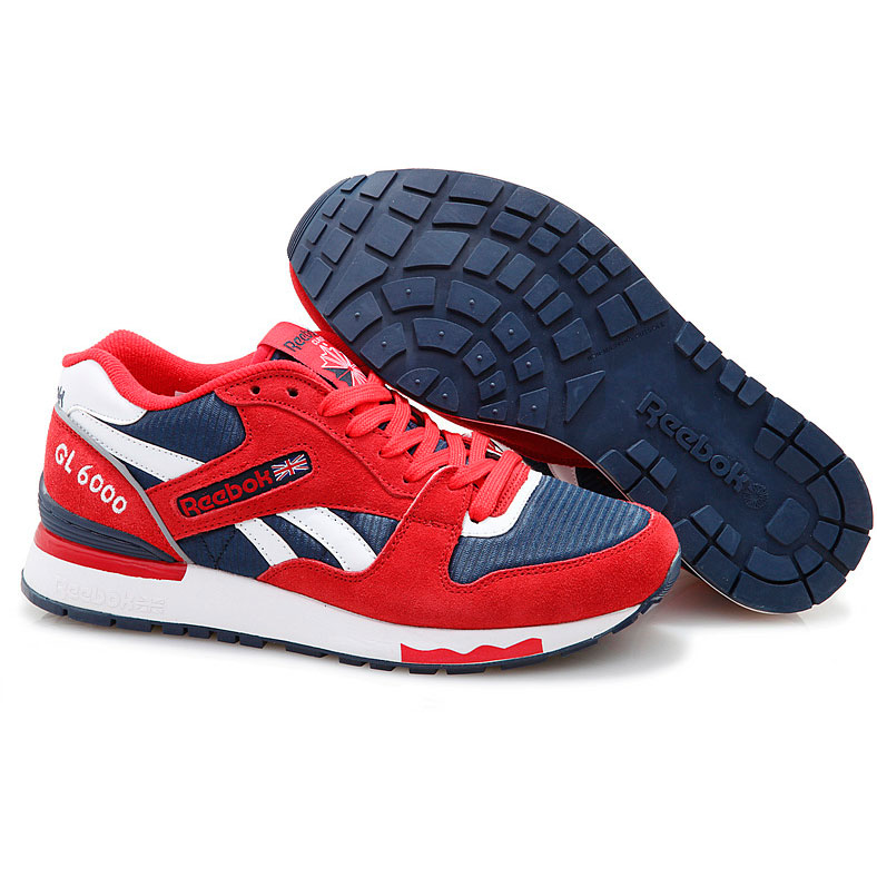 фото back Женские кроссовки Reebok GL6000 J98338D ATTACK/ ATHLETIC NAVY/ WHITE back