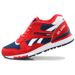 Женские кроссовки Reebok GL6000 J98338D ATTACK/ ATHLETIC NAVY/ WHITE