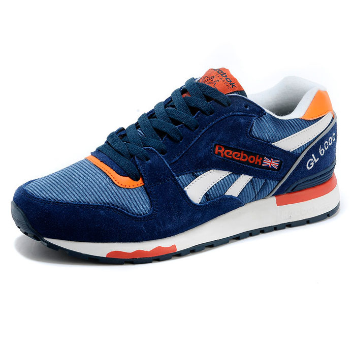 фото back Reebok GL6000 V47347 BLUE/ ORANGE/ WHT back