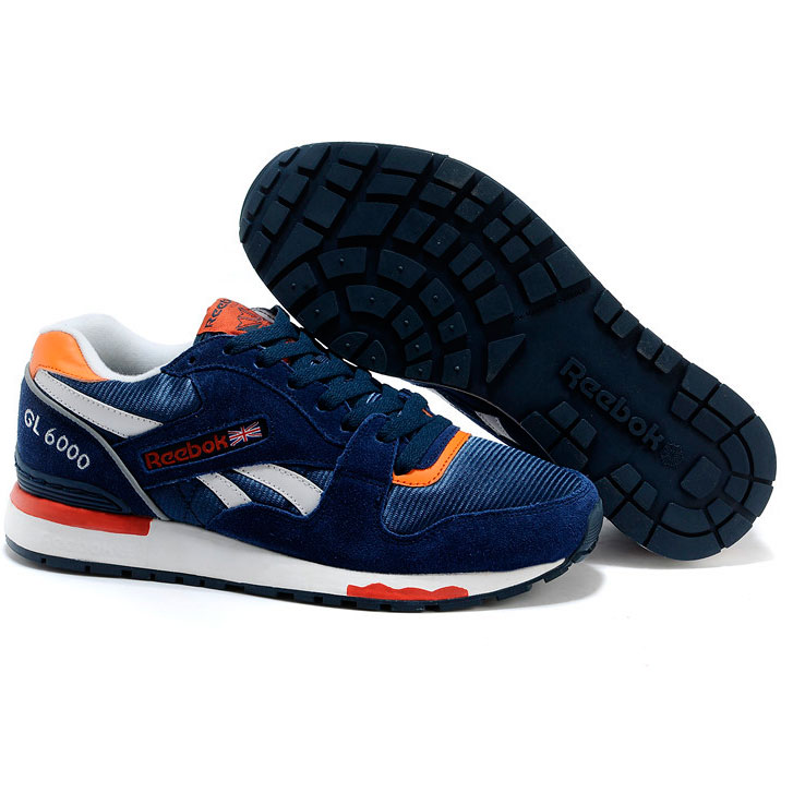 фото bottom Reebok GL6000 V47347 BLUE/ ORANGE/ WHT bottom