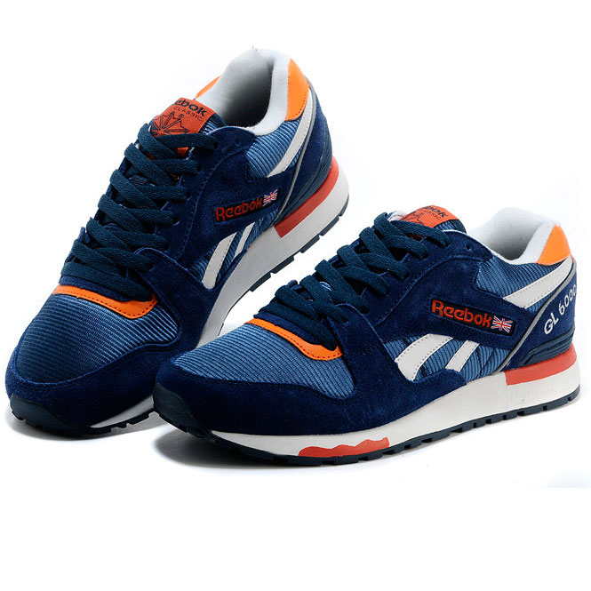 фото front Reebok GL6000 V47347 BLUE/ ORANGE/ WHT front