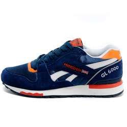 Reebok GL6000 V47347 BLUE/ ORANGE/ WHT