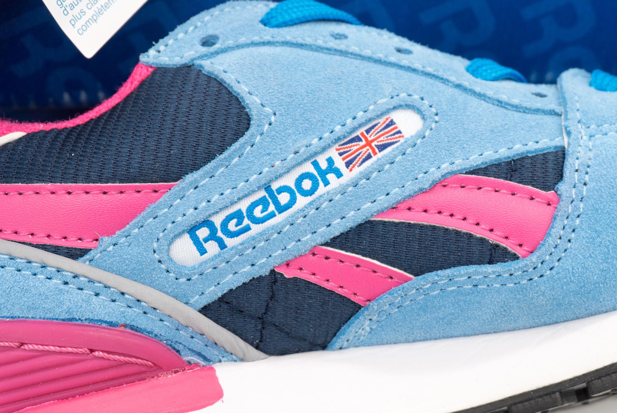 большое фото №5 Женские кроссовки Reebok GL6000 J98340 JADE/ DK. BLUE/ PEACH