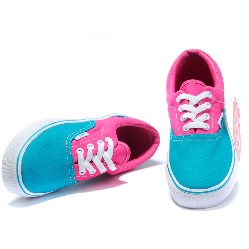 фото back Vans Classic Slip-On blue pink back