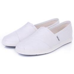 Женские белые слипоны RenBen 3817-1