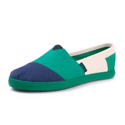 Женские сине-зеленые слипоны RenBen 3775-3