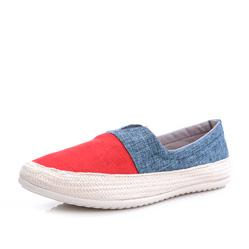 Мужские красно-синие слипоны RenBen 3266-2