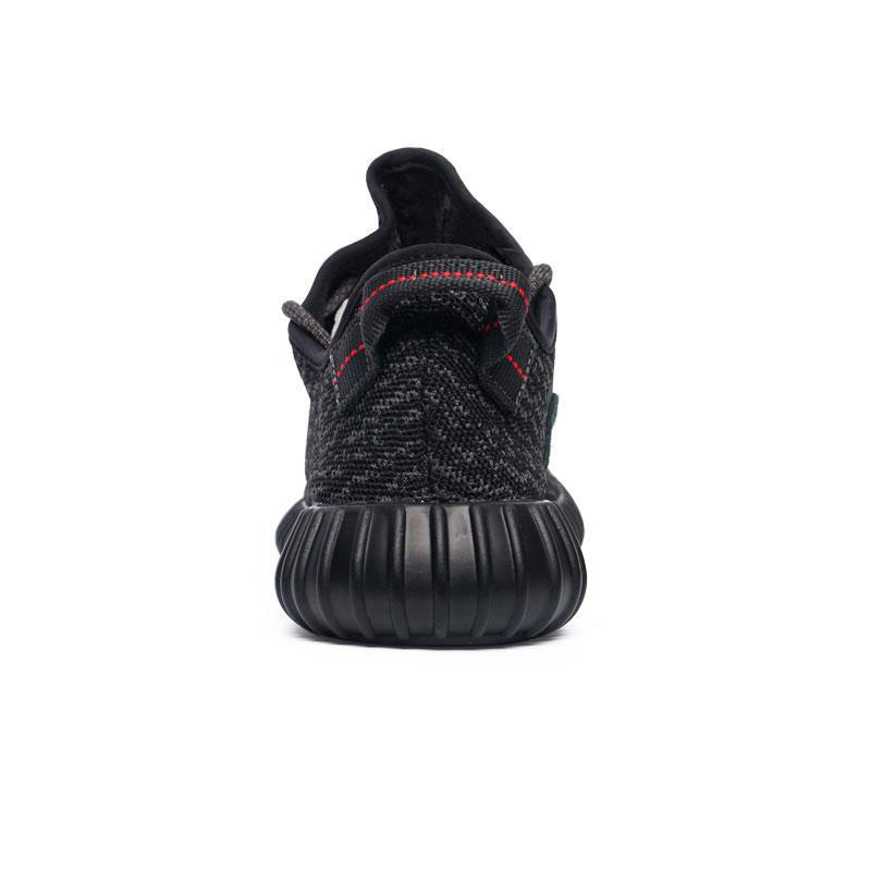 фото bottom Мужские россовки Adidas Kanye West Yeezy 350 черные - Топ качество bottom