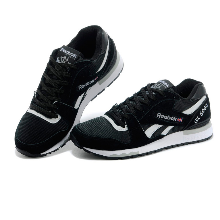 фото back Мужские кроссовки Reebok GL6000 V44751 BLACK/WHITE  back