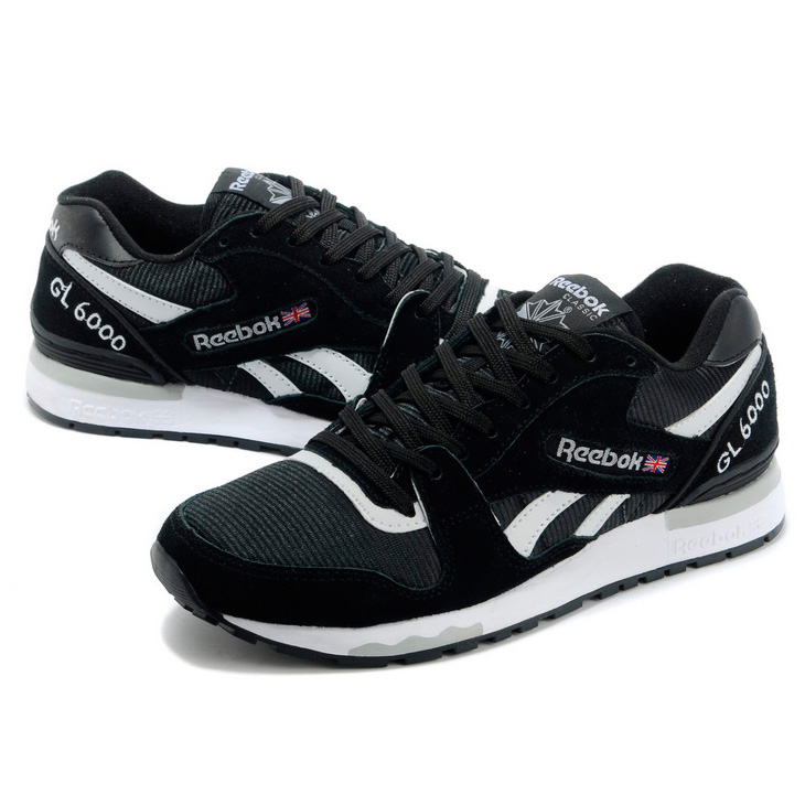фото bottom Мужские кроссовки Reebok GL6000 V44751 BLACK/WHITE  bottom
