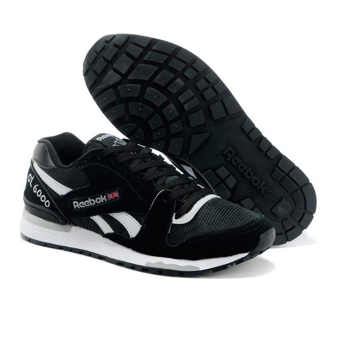 фото front Мужские кроссовки Reebok GL6000 V44751 BLACK/WHITE  front