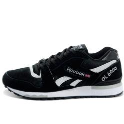 Мужские кроссовки Reebok GL6000 V44751 BLACK/WHITE