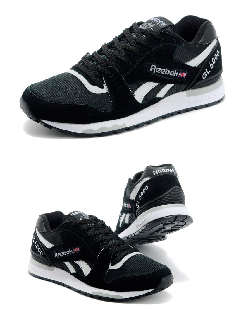 большое фото №6 Мужские кроссовки Reebok GL6000 V44751 BLACK/WHITE
