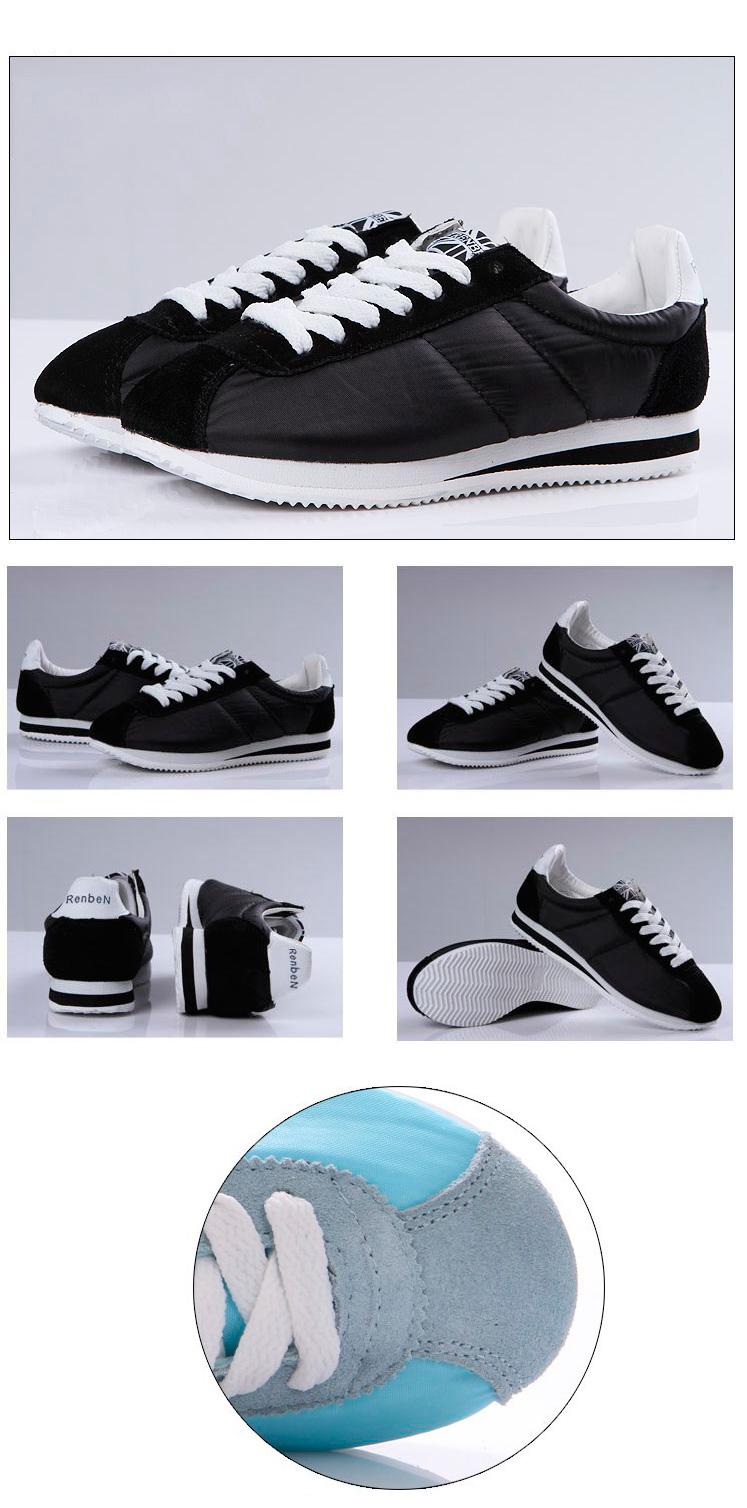 большое фото №6 Женские черные кроссовки RenBen 653-3