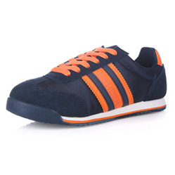 Женские синие кроссовки RenBen 091-3