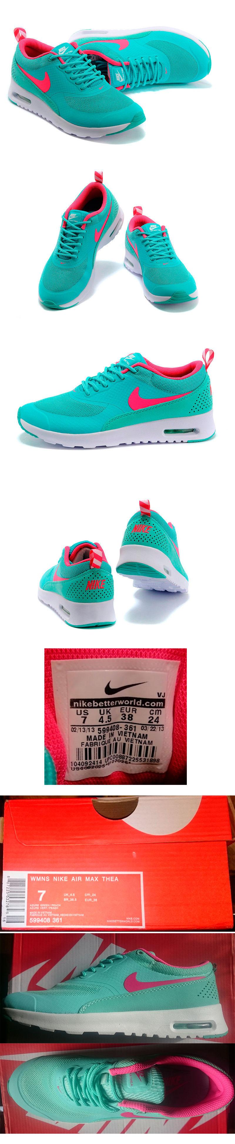 большое фото №6 Nike AIR MAX THEA бирюзовые