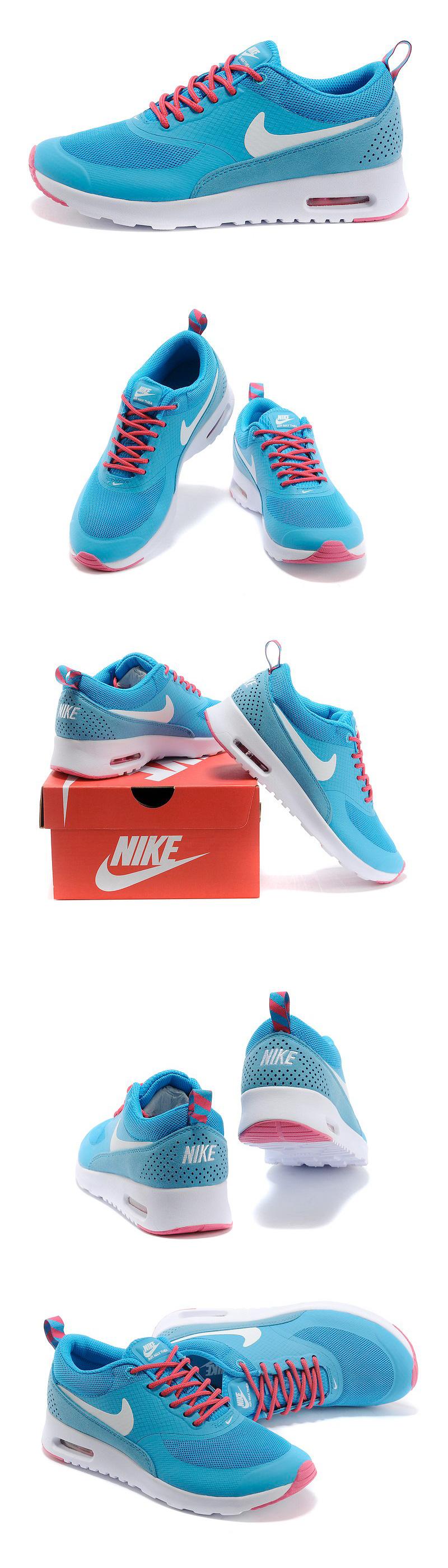 большое фото №6 Женские кроссовки Nike AIR MAX THEA синие