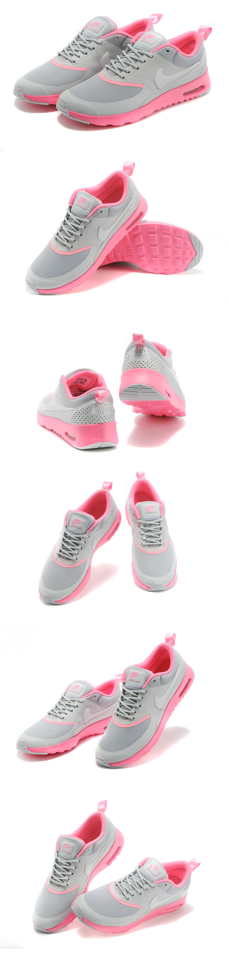 большое фото №6 Женские кроссовки Nike AIR MAX THEA серые