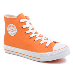 Женскиек ораньжевые кеды RenBen 8131-3
