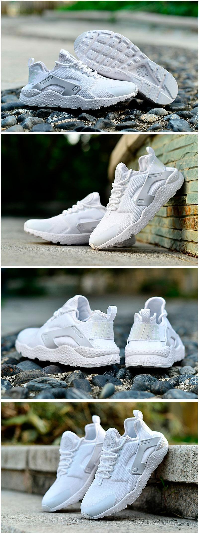 большое фото №6 Женские кроссовки Nike Huarache ultra белые
