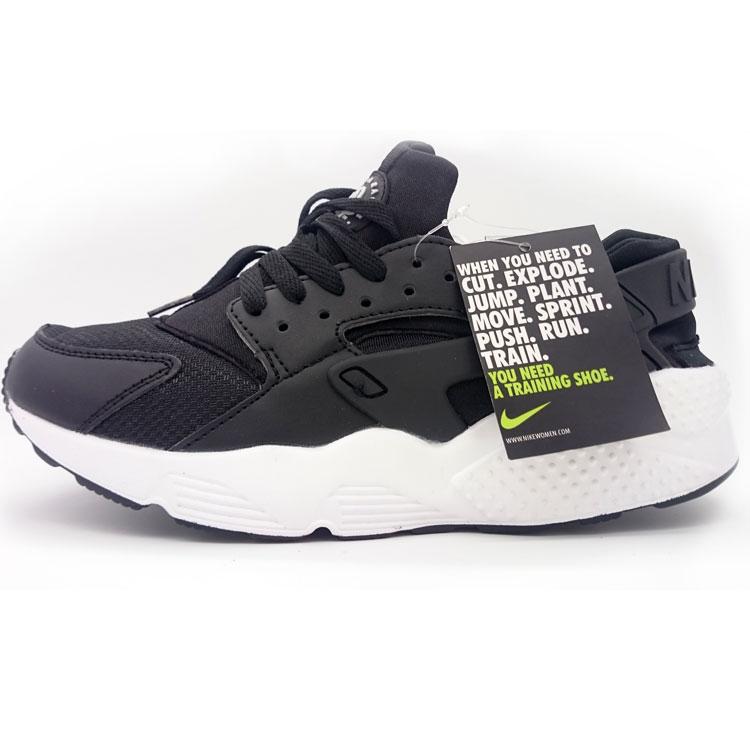 фото main Женские кроссовки Nike Huarache черно-белые main