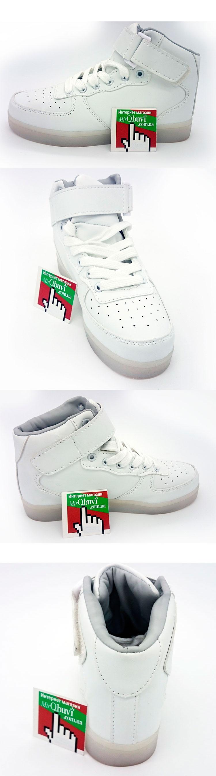 большое фото №5 Светящиеся кроссовки Led