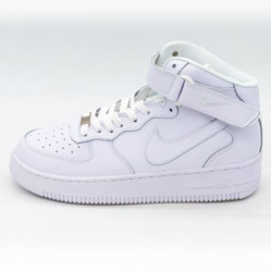 Nike Air Force высокие белые