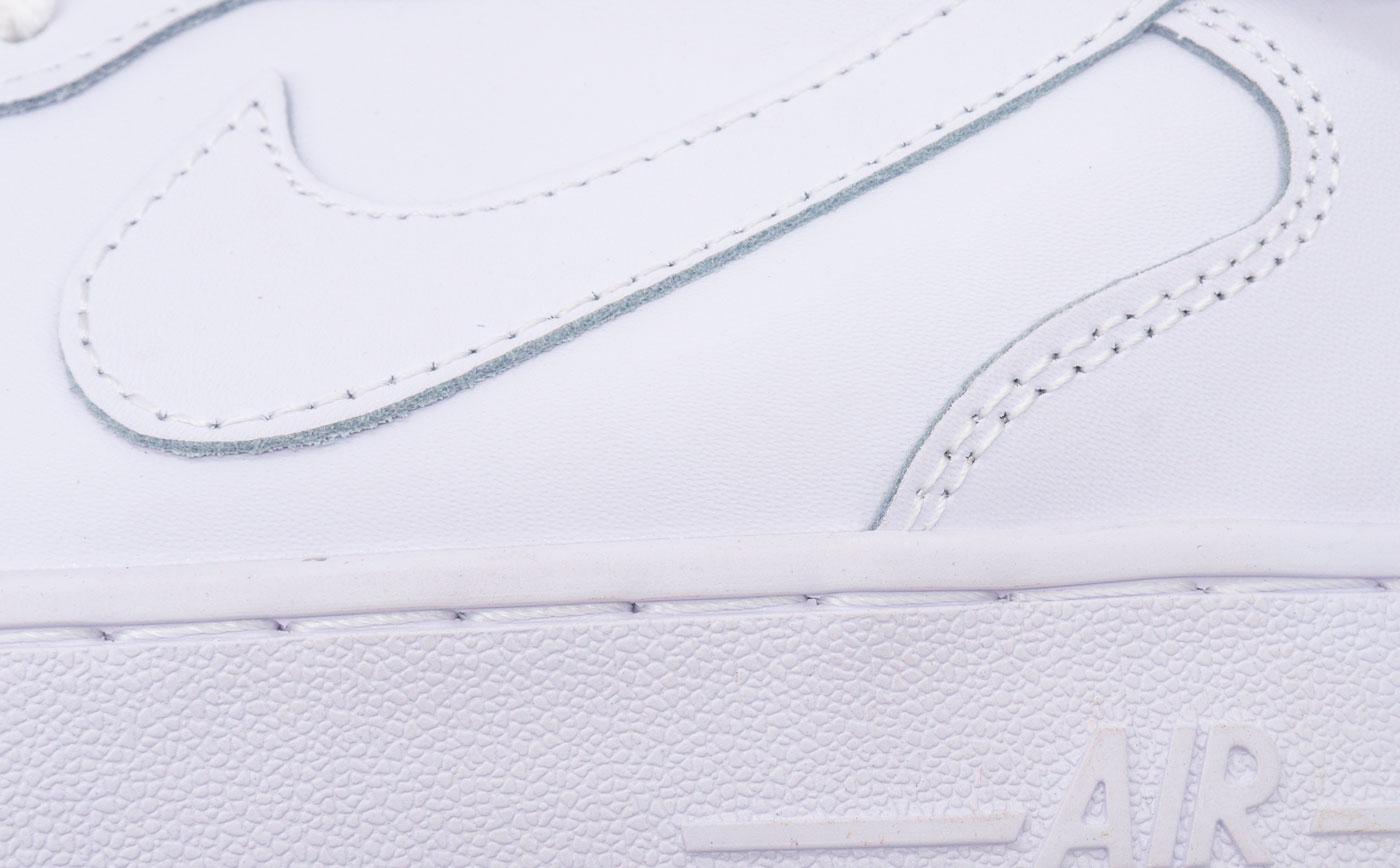 большое фото №5 Кроссовки Nike Air Force высокие белые