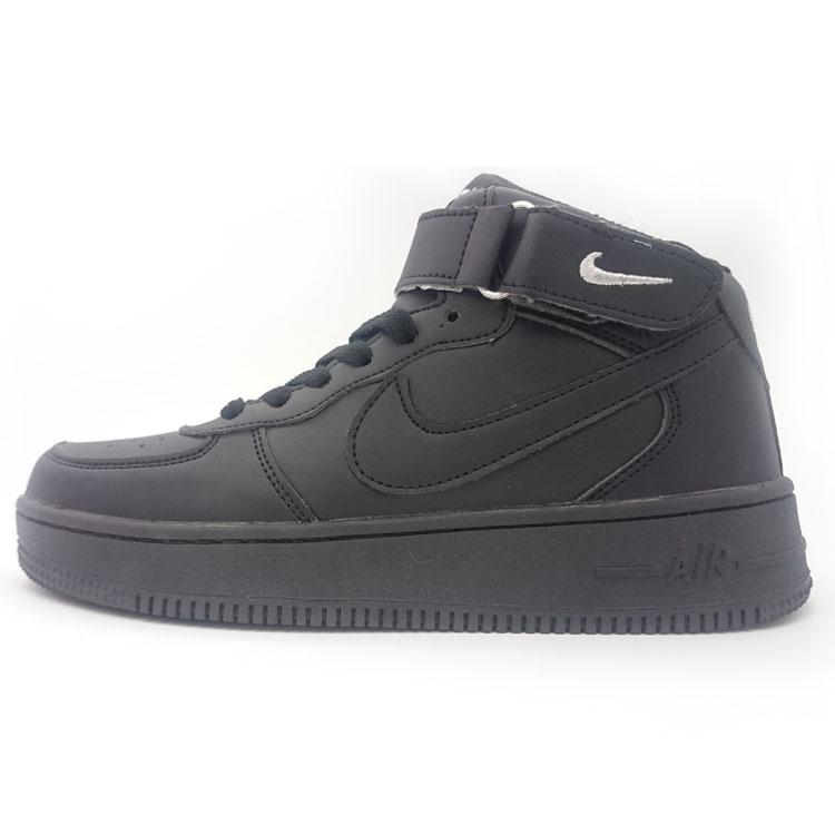 фото main Nike Air Force высокие черные main
