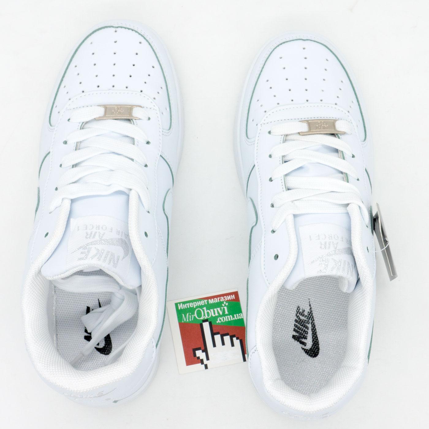 фото back Кроссовки Nike Air Force низкие белые back