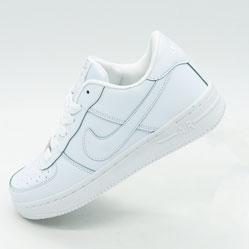Nike Air Force низкие белые