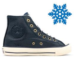 Зимние Converse высокие синие - Топ качество!
