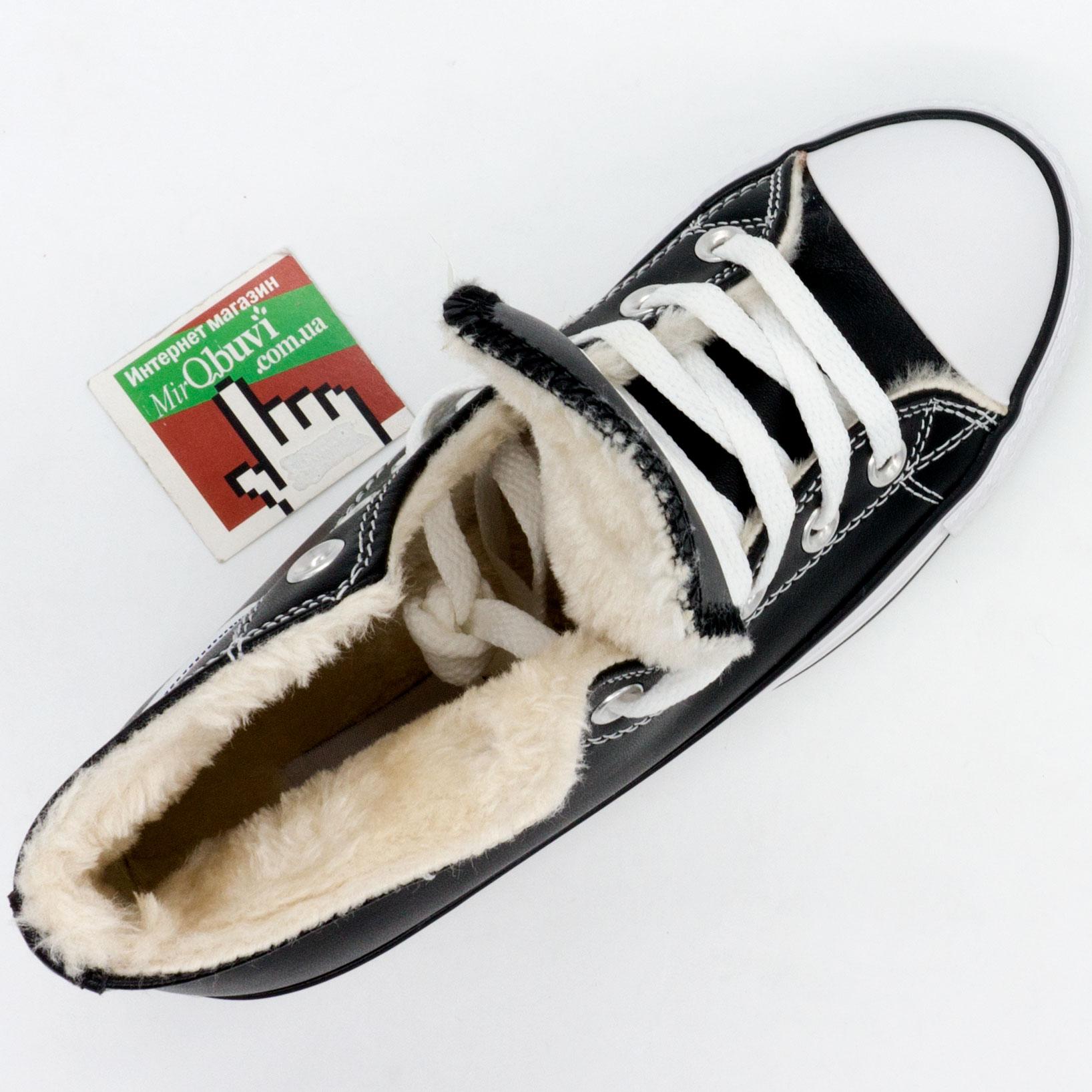 большое фото №5 Зимние Converse высокие черные - Топ качество!