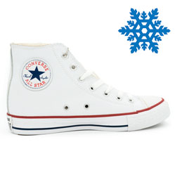 фото main Зимние кеды Converse высокие белые - Топ качество! main