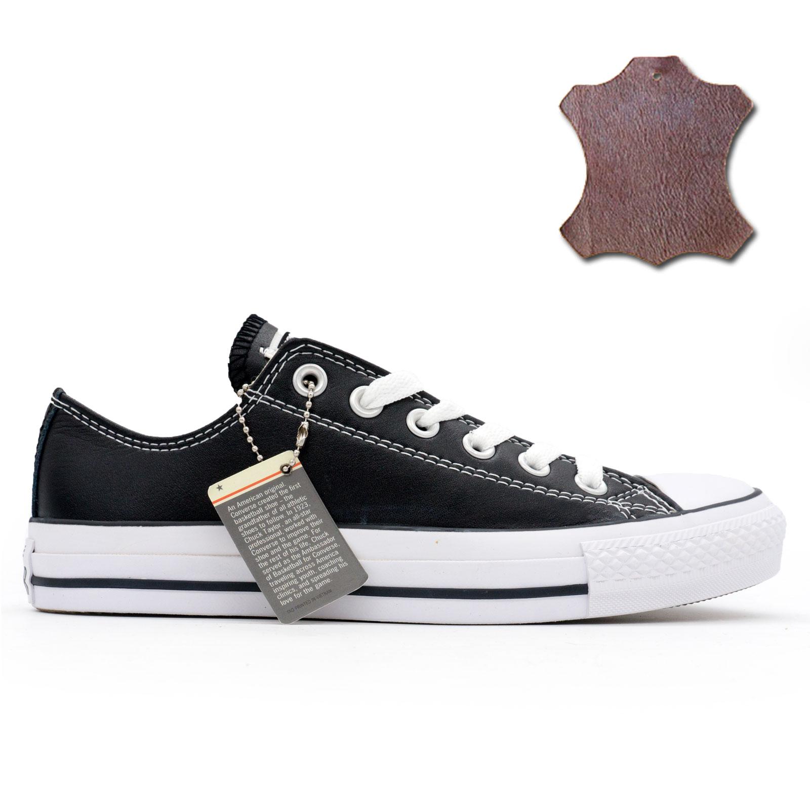 фото main Кеды Converse кожаные низкие черные main