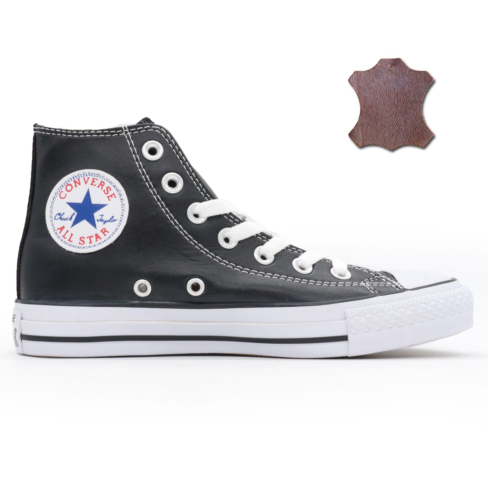 aa73c716 Высокие кожаные черные кеды converse, купить кеды converse в ...