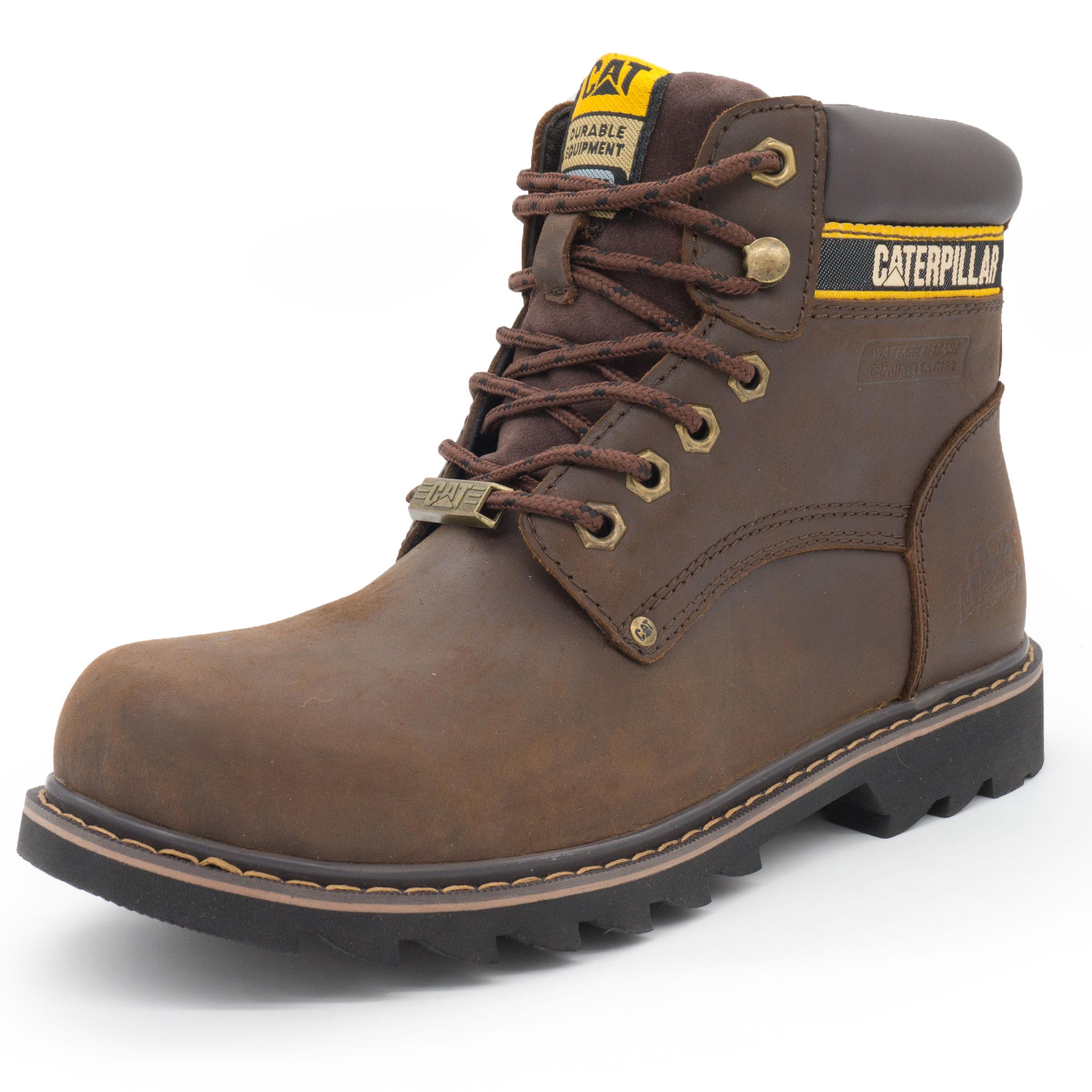 1b93fa0e4 Коричневые мужские ботинки CAT, купить ботинки Катерпиллер в ...