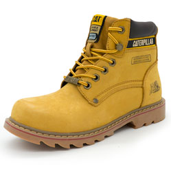 Желтые ботинки CAT (Катерпиллер)