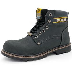 Черные ботинки CAT (Катерпиллер)