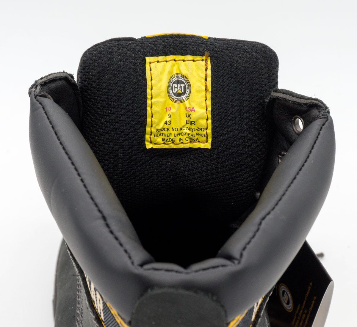 большое фото №5 Черные ботинки CAT (Катерпиллер)