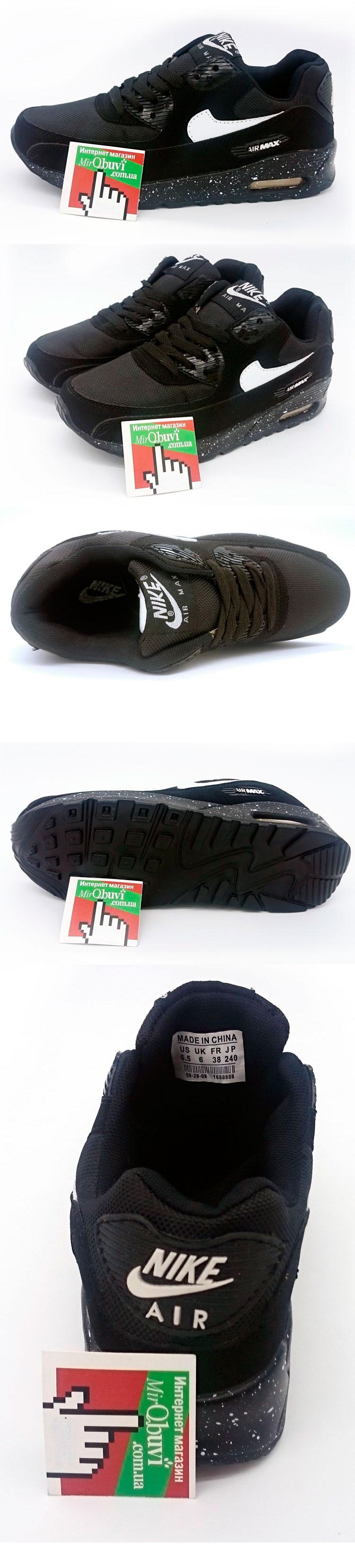большое фото №5 Nike Air Max 90 all black