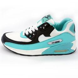 Nike Air Max 90 turquoise white