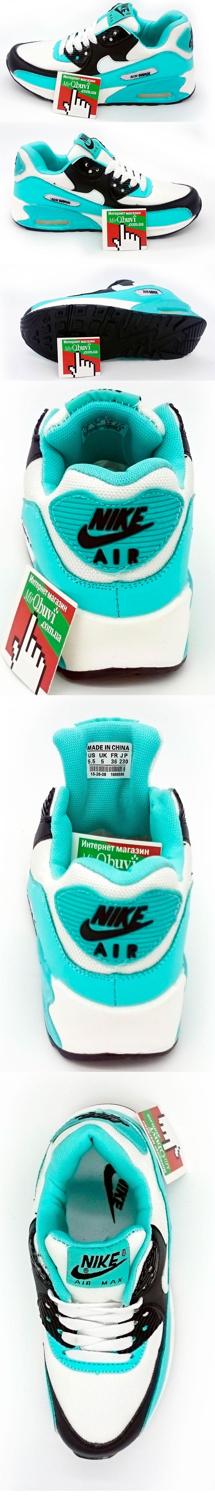 большое фото №5 Женские кроссовки Nike Air Max 90 берюзовые