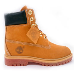 Желтые ботинки Timberland 10361- Реплика Тимберленд