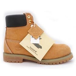 Желтые мужские ботинки Timberland (Тимберленд) 10061-94 Dominican