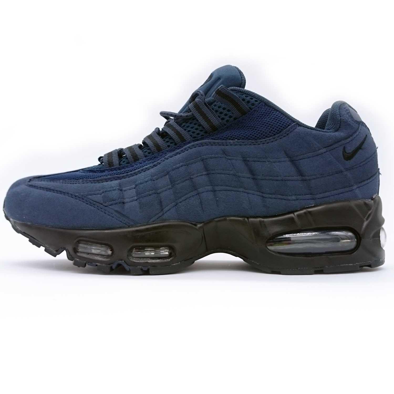 фото main Мужские кроссовки Nike air max 95 темно синие. ТОП КАЧЕСТВО!!! main